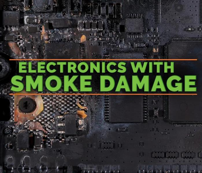 Why SERVPRO Taking Care of Electronics After a Fire