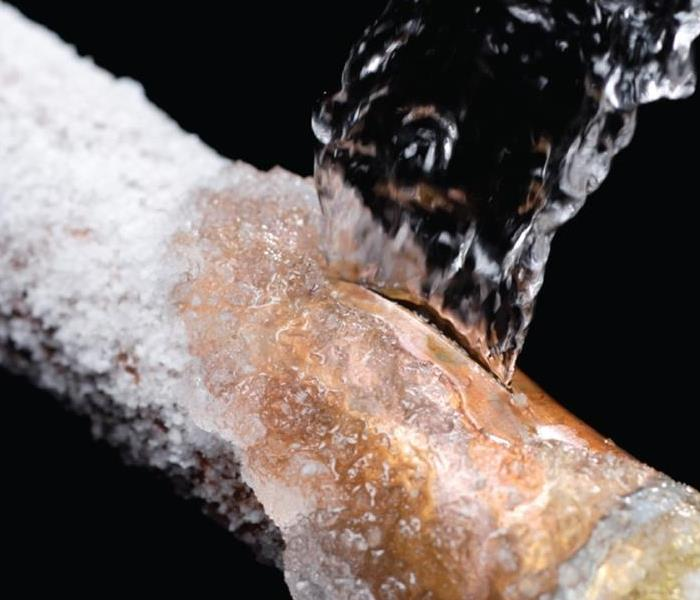 Water Damage Frozen Pipes that can flood your home or business in Scarsdale, NY 10583
