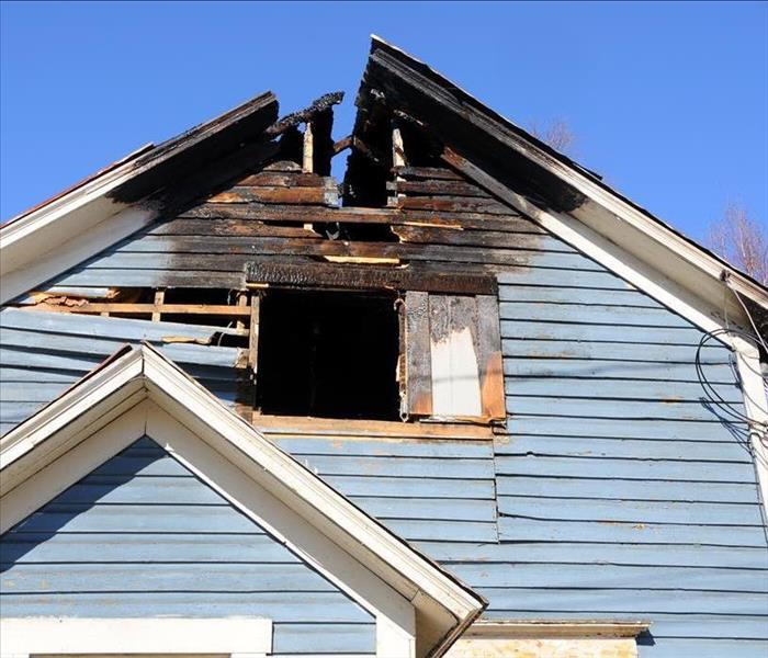 Commercial How To Respond When Fire Damages Your Roof